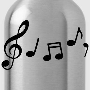 music notes T-Shirts - Water Bottle