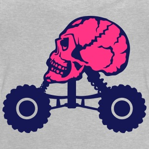 Monster truck death profile skull Shirts - Baby T-Shirt