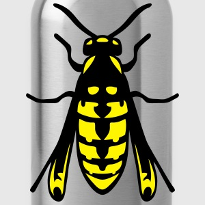 Insect fly wasp 1112 T-Shirts - Water Bottle
