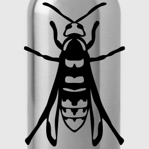 European hornet fly insect 1112 T-Shirts - Water Bottle