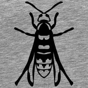 European hornet fly insect 1112 Tops - Men's Premium T-Shirt