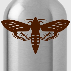 night butterfly insect 1112 T-Shirts - Water Bottle
