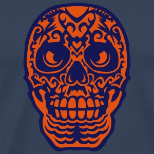 Mexican skull tattoo 0123 Long sleeve shirts - Men's Premium T-Shirt