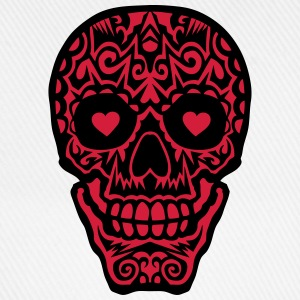 Mexican skull tattoo 1012 Shirts - Baseball Cap