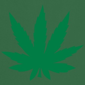 Cannabis leaf 912 T-Shirts - Cooking Apron