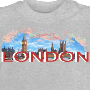 LONDON-RETRO Langarmshirts - Baby T-Shirt