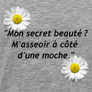 secret de beauté - T-shirt Premium Homme
