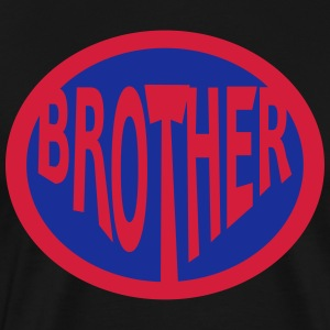 Super, Superheld, Superheldin, Hero, Brother  Aprons - Men's Premium T-Shirt