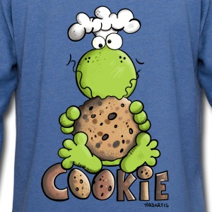 Frog with Cookie Baby Bodysuits - Light Unisex Sweatshirt Hoodie