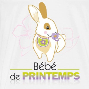 Body bébé de printemps - T-shirt Premium Homme