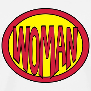 Super, Superheld, Superheldin, Hero, Woman Other - Men's Premium T-Shirt