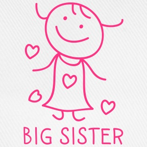 Big Sister Long Sleeve Shirts - Baseball Cap