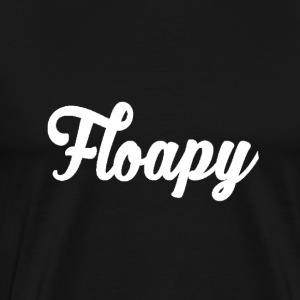 Floapy - T-shirt (Female) (Black) - Mannen Premium T-shirt