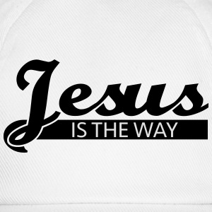 Jesus is the way T-Shirts - Baseballkappe