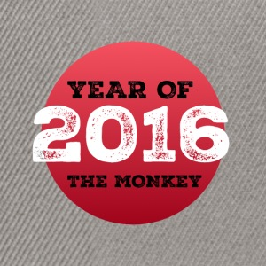 2016 year of the monkey - Snapback Cap
