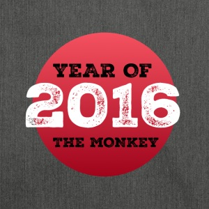 2016 year of the monkey - Shoulder Bag made from recycled material