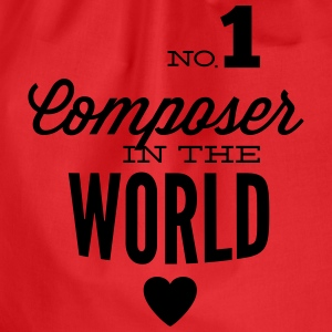 Best composer in the world Long Sleeve Shirts - Drawstring Bag