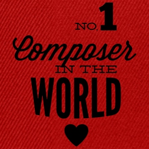 Best composer in the world Long Sleeve Shirts - Snapback Cap