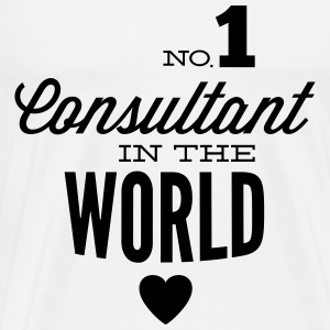 Best consultant of the world Hoodies & Sweatshirts - Men's Premium T-Shirt