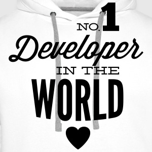 Best developers in the world T-Shirts - Men's Premium Hoodie