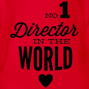 Best Director in the world Shirts - Organic Short-sleeved Baby Bodysuit
