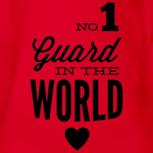 Best guard of the world Long Sleeve Shirts - Organic Short-sleeved Baby Bodysuit