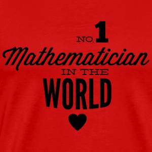 Best mathematician in the world Tank Tops - Men's Premium T-Shirt