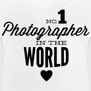 Best photographer in the world Shirts - Baby T-Shirt