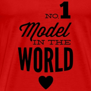Best model of the world Tops - Men's Premium T-Shirt