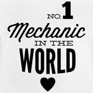 Best mechanic of the world Shirts - Baby T-Shirt