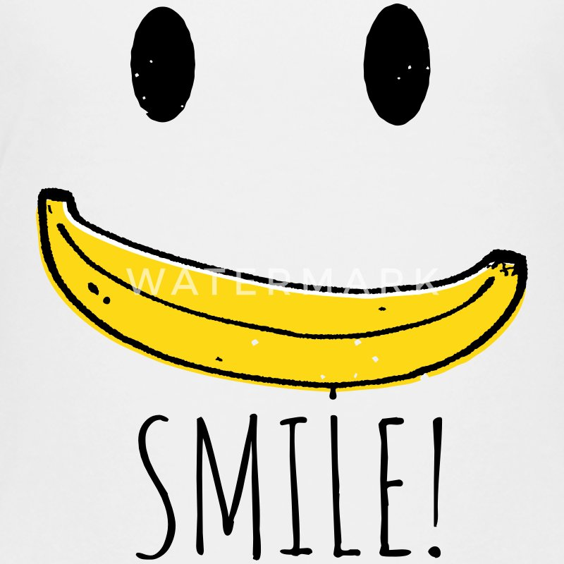 Coole Retro Smiley Banana smile sprüche T-Shirts - Teenager Premium T-Shirt