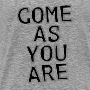 Come As You Are Tank Tops - Männer Premium T-Shirt