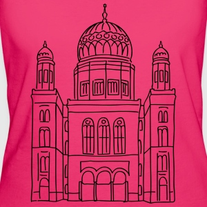 New Synagogue Berlin Bags & Backpacks - Women's Organic T-shirt