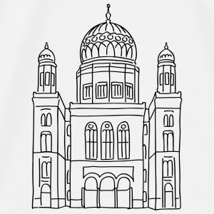 New Synagogue Berlin Other - Men's Premium T-Shirt