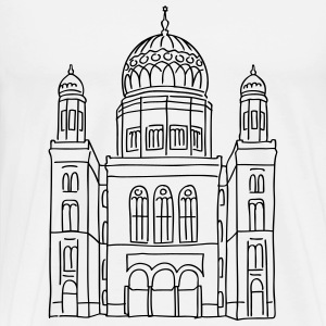 New Synagogue Berlin Long sleeve shirts - Men's Premium T-Shirt