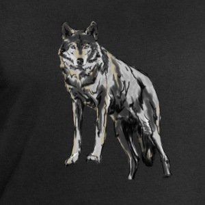 Wolf T-Shirts - Men's Sweatshirt by Stanley & Stella
