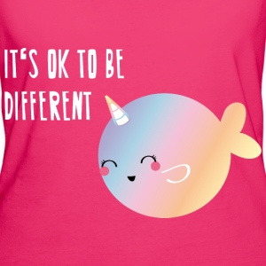 Narwhal Unicorn - Frauen Bio-T-Shirt