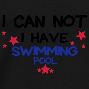 I HAVE swimming pool Bouteilles et Tasses - T-shirt Premium Homme