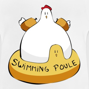 Swimming poule - T-shirt Bébé