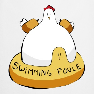 Swimming poule - Tablier de cuisine