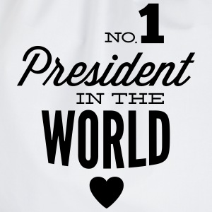 Best President of the world T-Shirts - Drawstring Bag