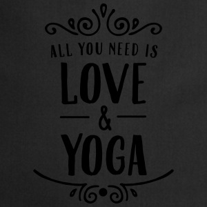 ALl You Need Is Love & Yoga Mokken & toebehoor - Keukenschort
