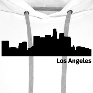 Los Angeles T-skjorter - Premium hettegenser for menn