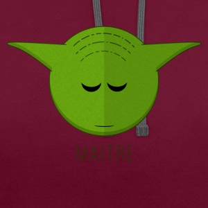 Maitre Yoyo - Sweat-shirt contraste