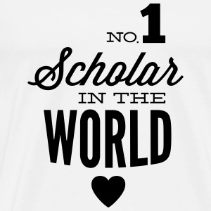 Best students of the world Tops - Men's Premium T-Shirt