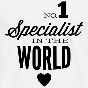 Best specialist of the world Tops - Men's Premium T-Shirt