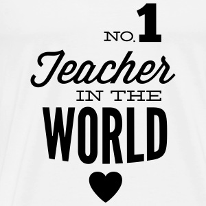 Best teachers in the world Tops - Men's Premium T-Shirt