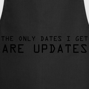 only updates for me Camisetas - Delantal de cocina