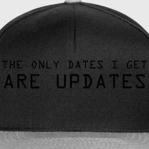 only updates for me Camisetas - Gorra Snapback