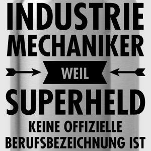 Industrie Mechaniker - Superheld T-Shirts - Trinkflasche